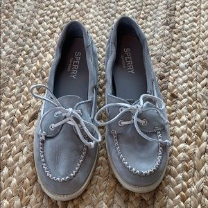 Sperry Women's Boat Shoes Gray